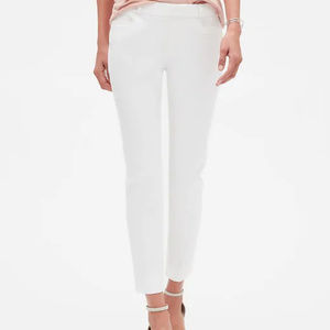 Brand new Banana Republic Sloan pants white 10